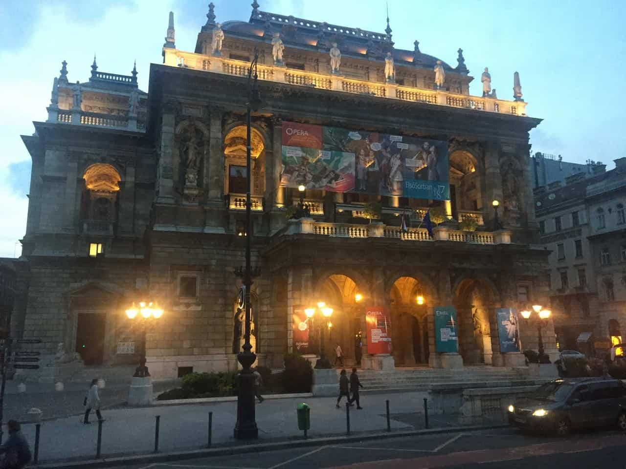 Budapest Hop-On Hop-Off Night Bus Tour