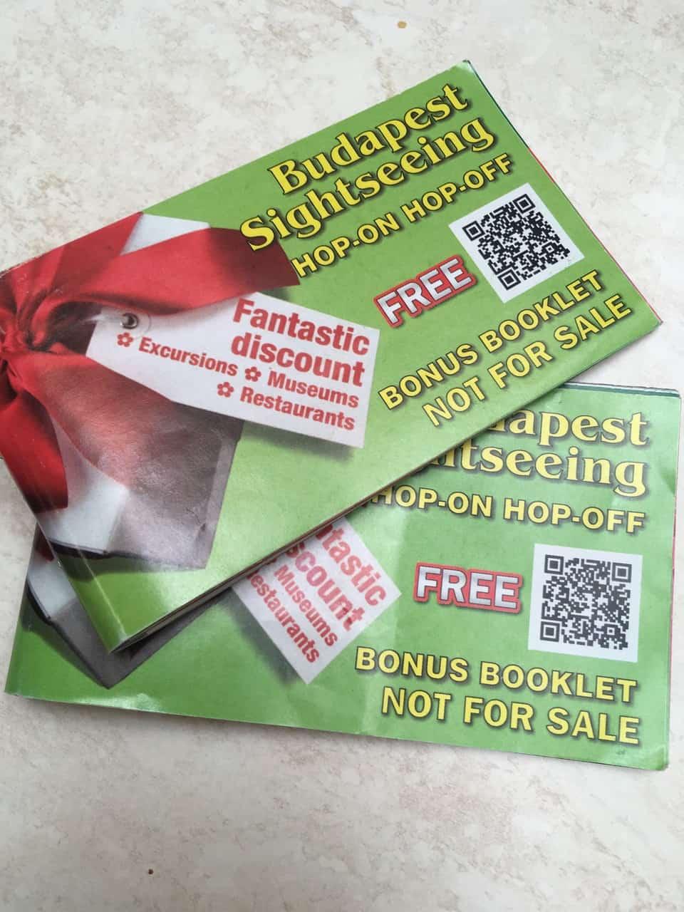 Hop-On Hop-Off Sightseeing Bonus Booklet