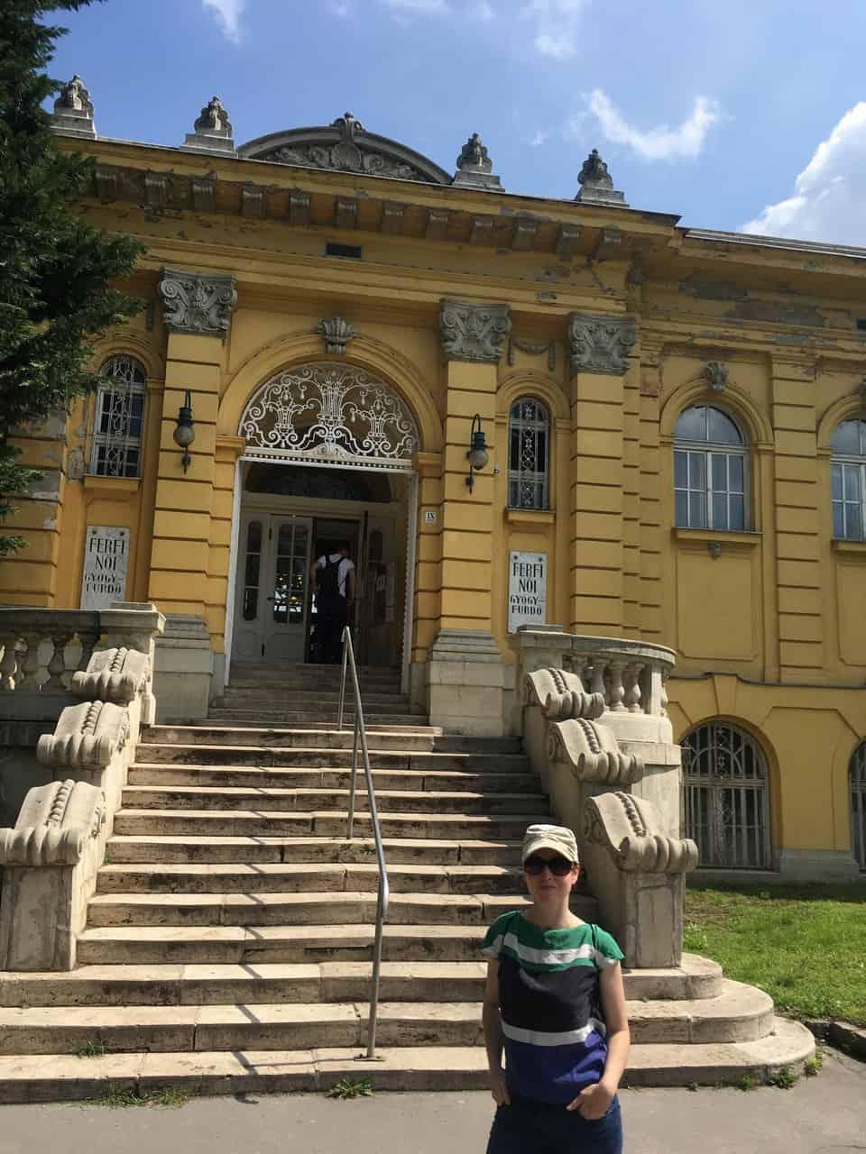 Budapest Baths Széchenyi