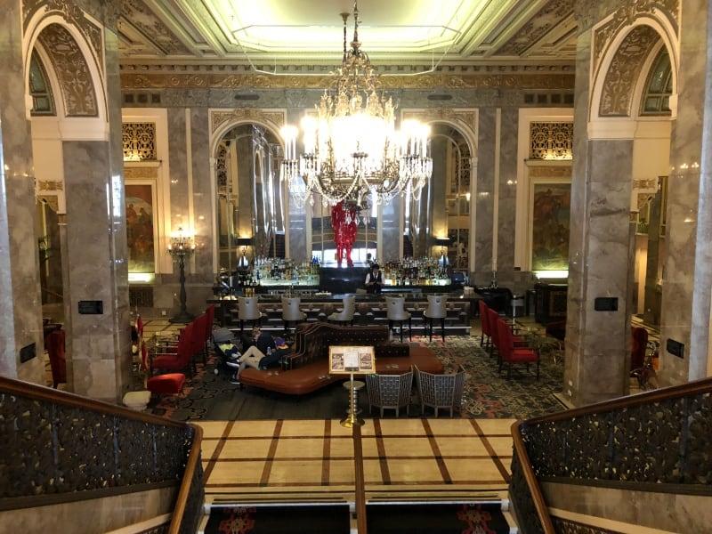 Kimpton Sir Francis Drake Hotel, Union Square, San Francisco - lobby