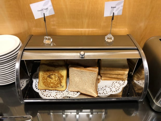 Plaza Premium Lounge - breakfast