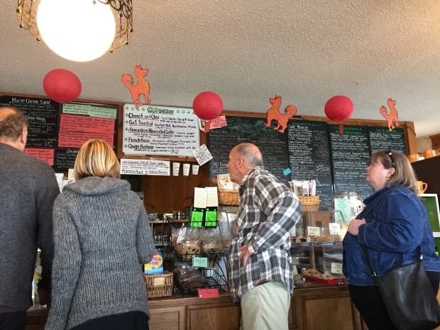 Lincoln City, Oregon - Green Salmon Cafe, Yachats