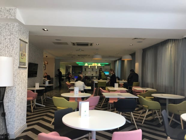 Ibis Styles Heathrow Airport Hotel - breakfast.
