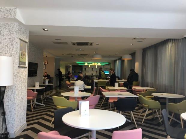 Ibis Styles Heathrow Airport Hotel - breakfast.