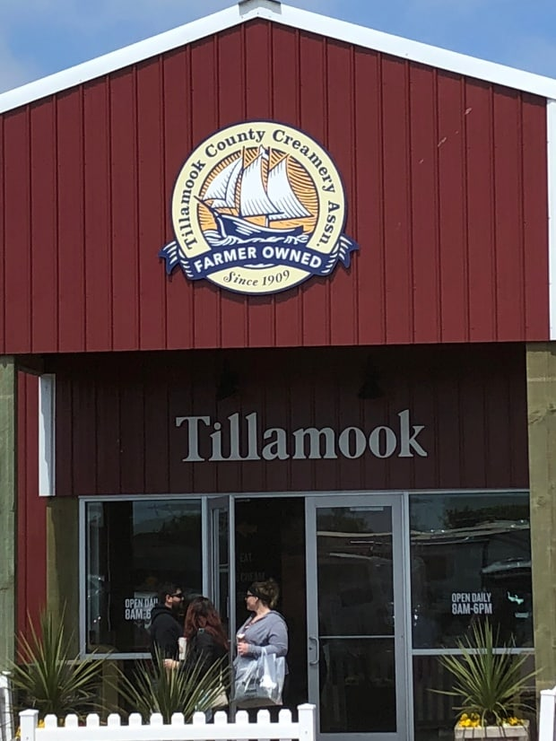 Lincoln City, Oregon - Tillamook County Creamery