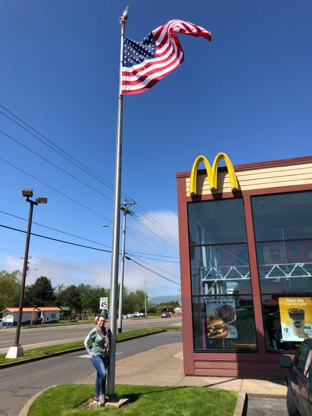 Lincoln City, Oregon - Tillamook McDonalds