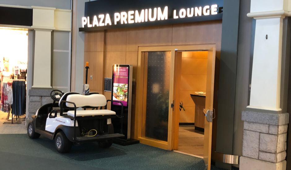 Plaza Premium Lounge Vancouver.