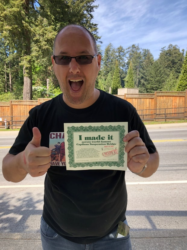 Fun things to do in Vancouver - Capilano certificate
