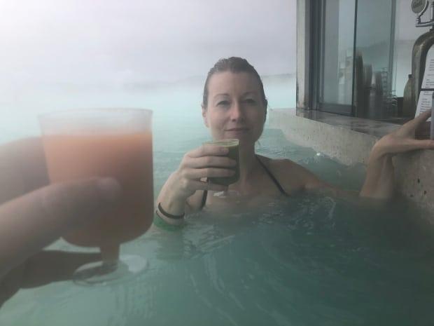 Silica Hotel Iceland - Blue Lagoon bar.