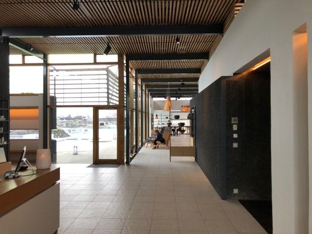Silica Hotel Iceland foyer