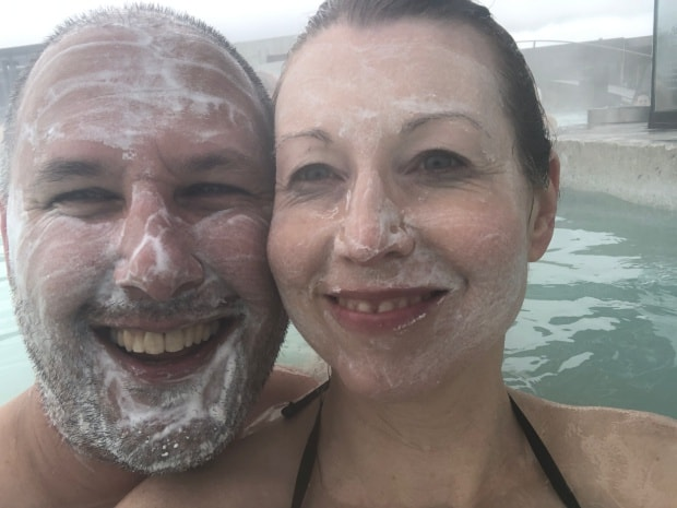 Silica Hotel Iceland - Blue Lagoon complimentary facemask.