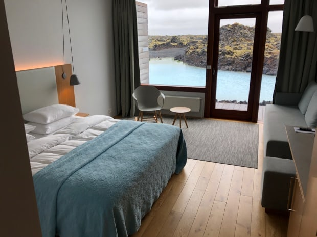 Silica Hotel Iceland - room.