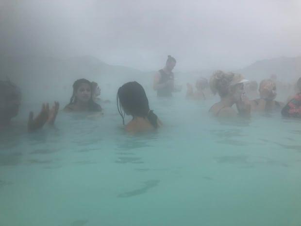 Silica Hotel Iceland - Blue Lagoon silica facemask.