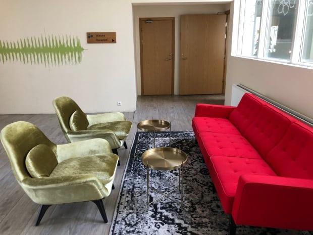 Reykjavik accommodation - Hotel Klettur foyer
