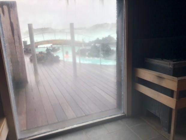 Silica Hotel Iceland - Blue Lagoon sauna.